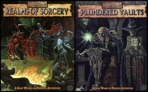 Realms of Sorcery, Plundered Vaults
