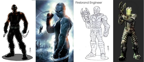 Riddick iDead Space