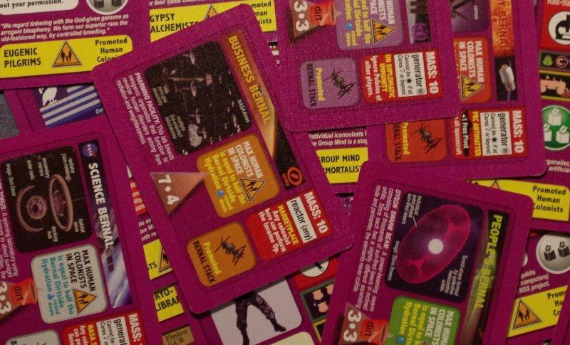 Nowe karty inowy kolor: nieco szalony fiolecik.