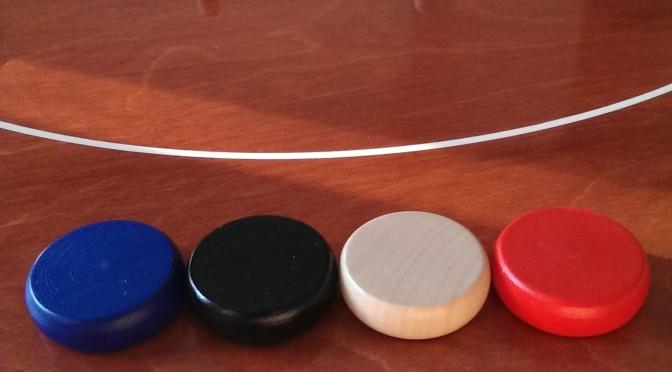 crokinole - 4 kolory