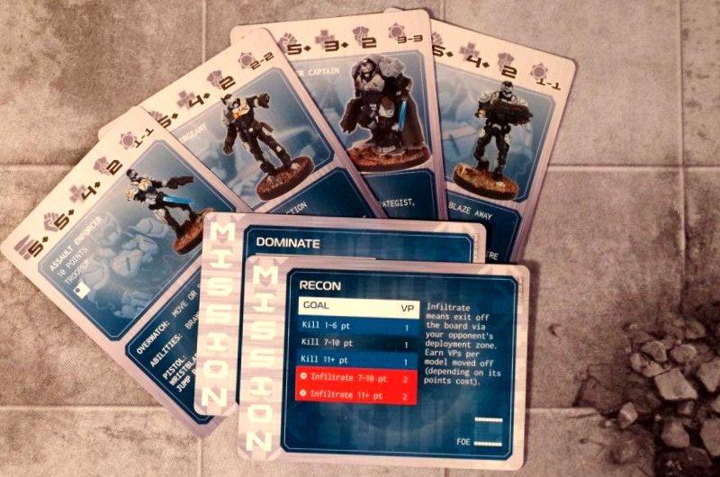 Karty jednostek imisji - Enforcers