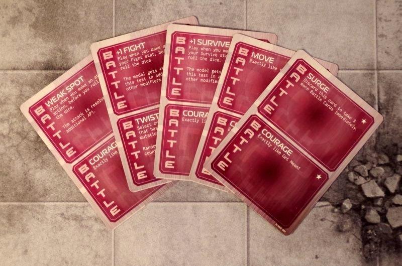 Karty akcji - Plaga